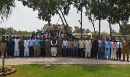 A Day with Army: Trip to Pano Aqil Cantonment