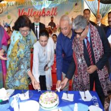 Women Volley Ball Championship inaugurated and 98th Birthday of Renowned Poet Shaikh Ayaz was celebrated as SAUS